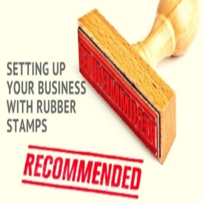 How Rubber Stamps Can Help in Setting Up Your Business
