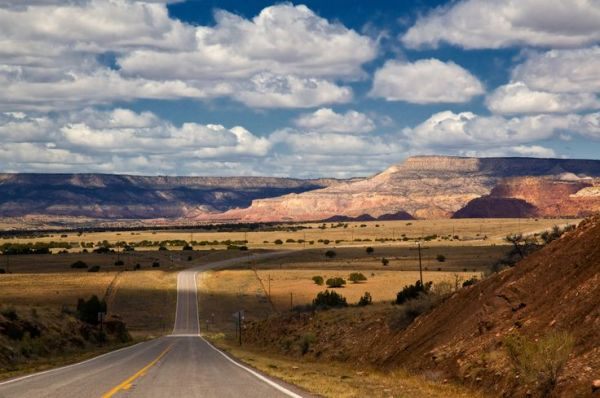 Looking north toward Santa Fe