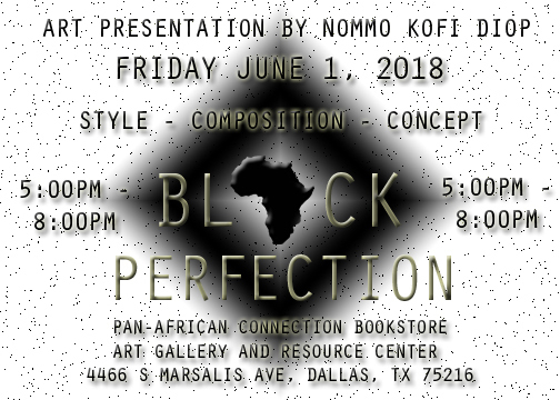 click on link to get tickets to Black Perfection Presentation