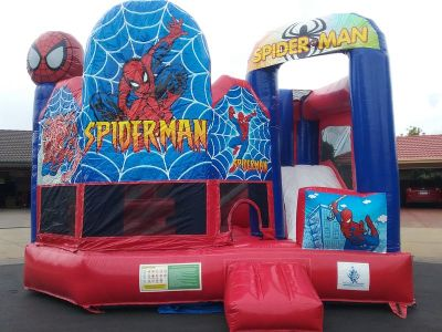 spiderman,Party Hire,Jumping castle,Inflatable,Orange,nsw,event hire,party,parties,bucks night,hens night,team building,school events,gala,special occasions,slide,slides,engagement,festival,concert,fundraiser,fairs,corperate events,kids party, childrens party,boys party,girls party,unique party,shows,markets,central west nsw