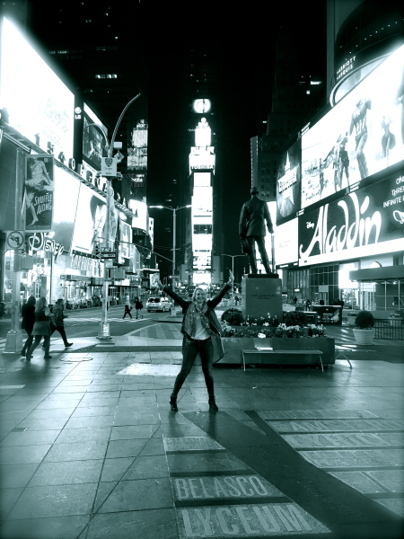 Times Square, New York New York, April 2016 - one of my 'happy' places