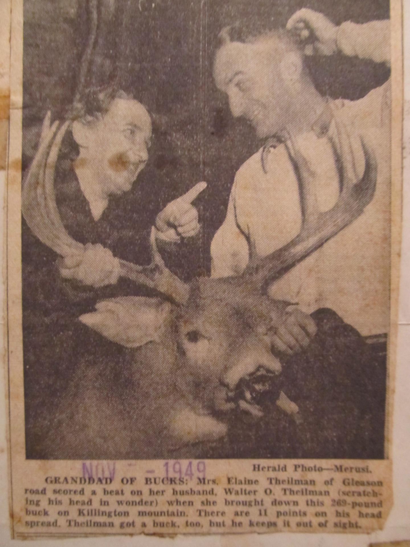 Big Vermont Buck