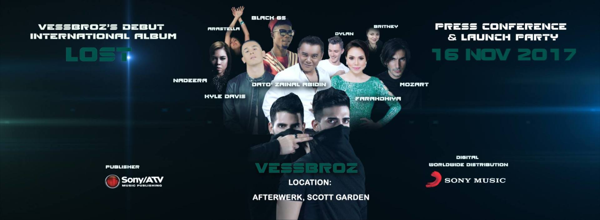 Vessbroz's Debut International Album Launch