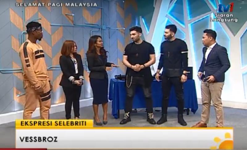 Vessbroz Interview with TV1