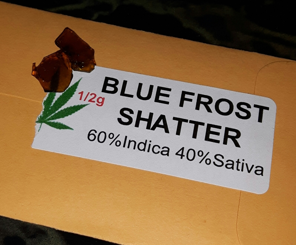 Shatter Review #2: Blue Frost