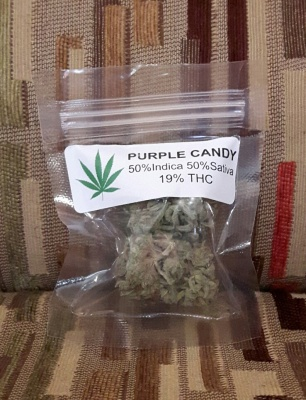 Flower Review #3: Purple Candy