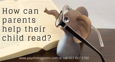 How can parents help their child read?
