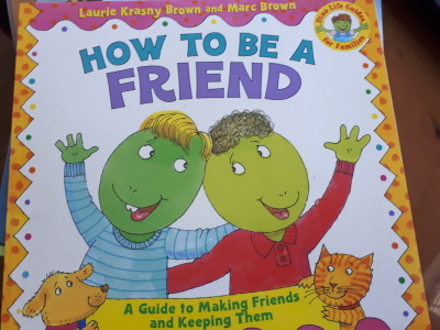 Book recommendations for kids - How to be a Friend.