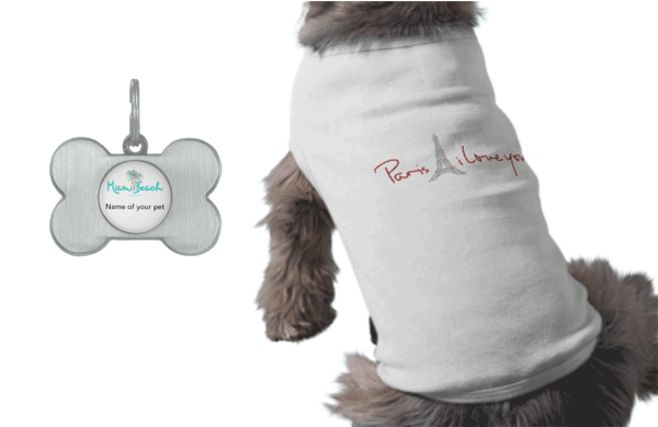 pet clothing & tags