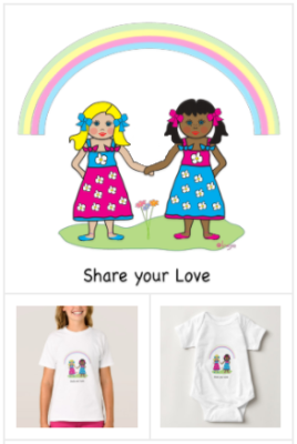 Love is Love T-shirts, Share the love Tees, adorable love is love themed t-shirts