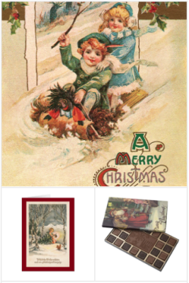 Best Vintage Christmas Cards and Gifts