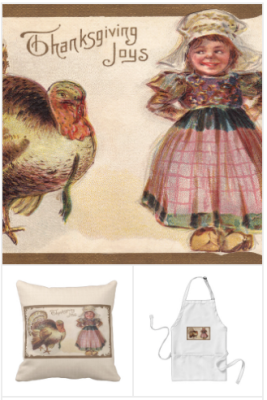 thanksgiving home decor and greeting cards