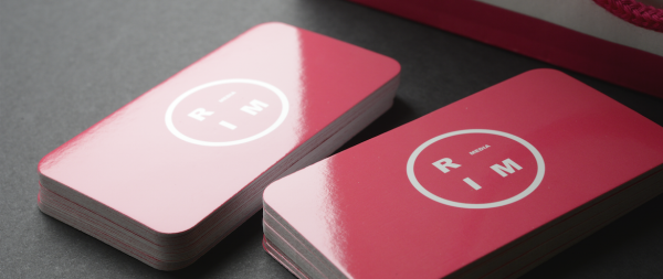 Glossy Business Card