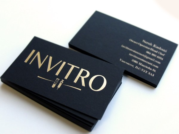 Matte Business Card