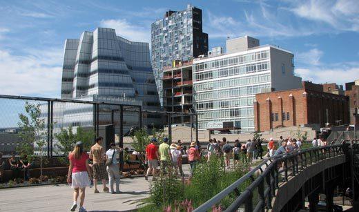 Conhecendo o High Line Park,  Chelsea Market e Meatpacking