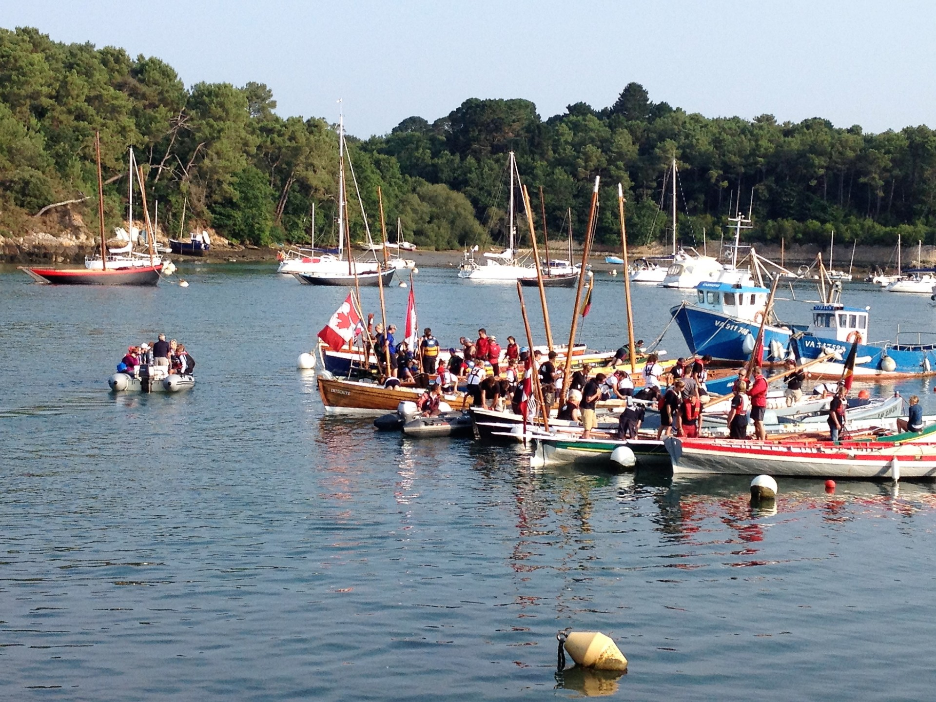 Moored gigs
