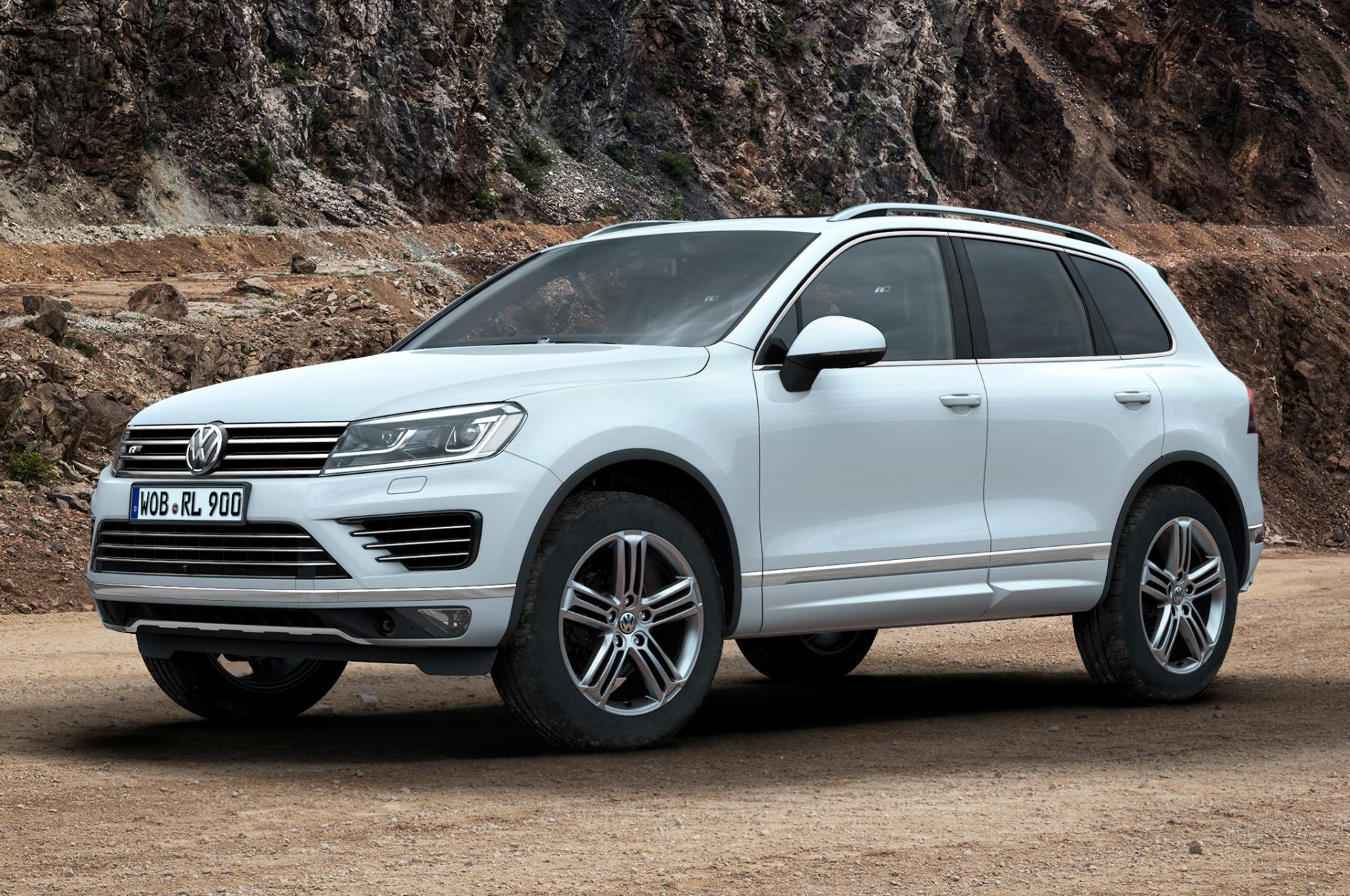 2015 Volkswagen Touareg Review