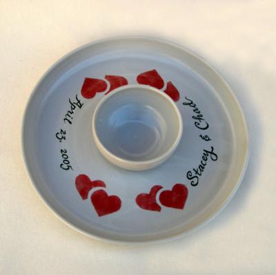 Twin Heart Chip 'n Dip Platter     $45.