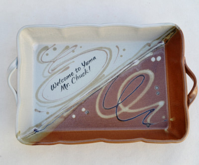 Swirl Tray With Handles     $55,