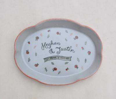 Oval Wedding Platter     $45.