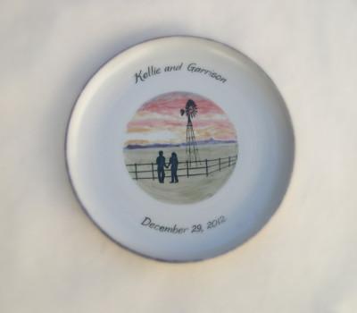 Ranch Wedding Platter     $50.