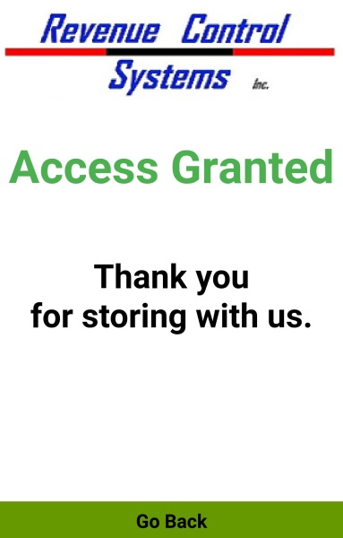 Codice! Android 'Access Granted' Screen