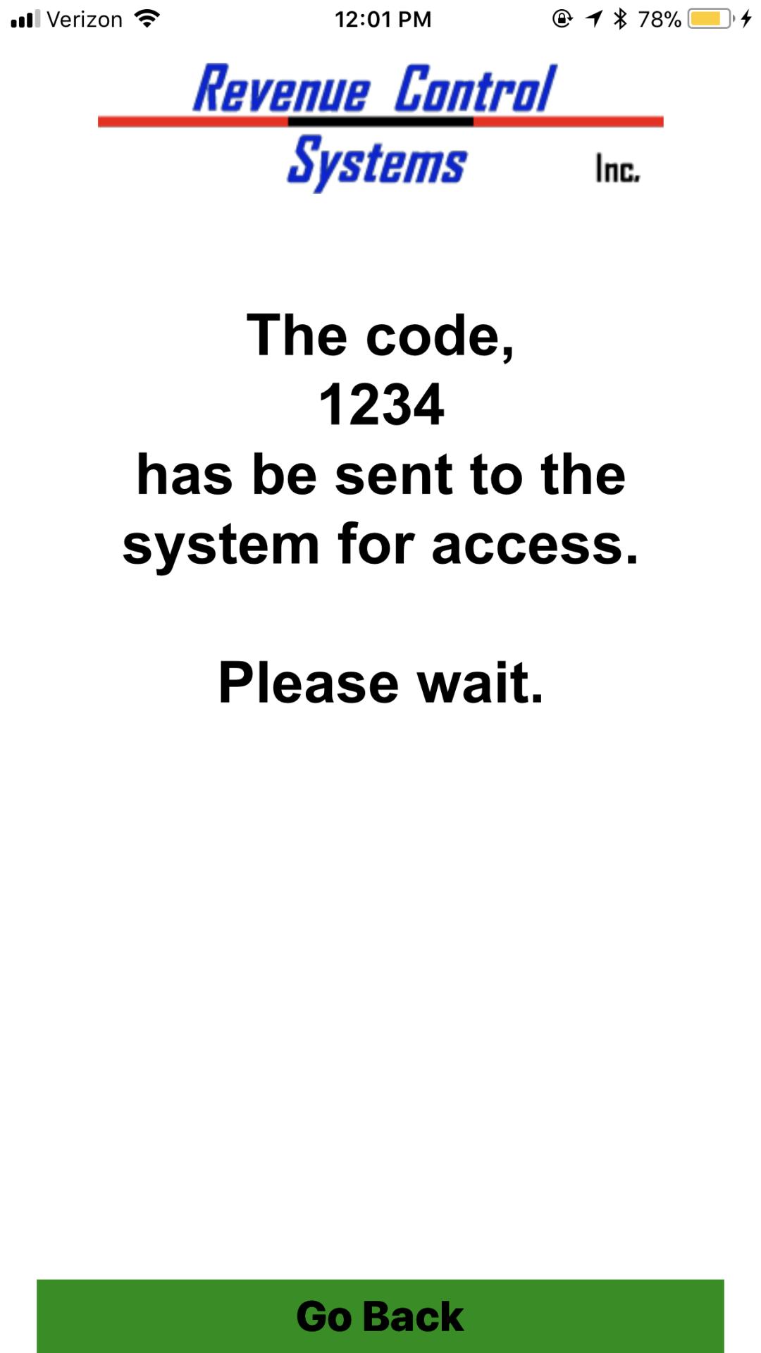 Codice! Apple 'Code Sent' Screen