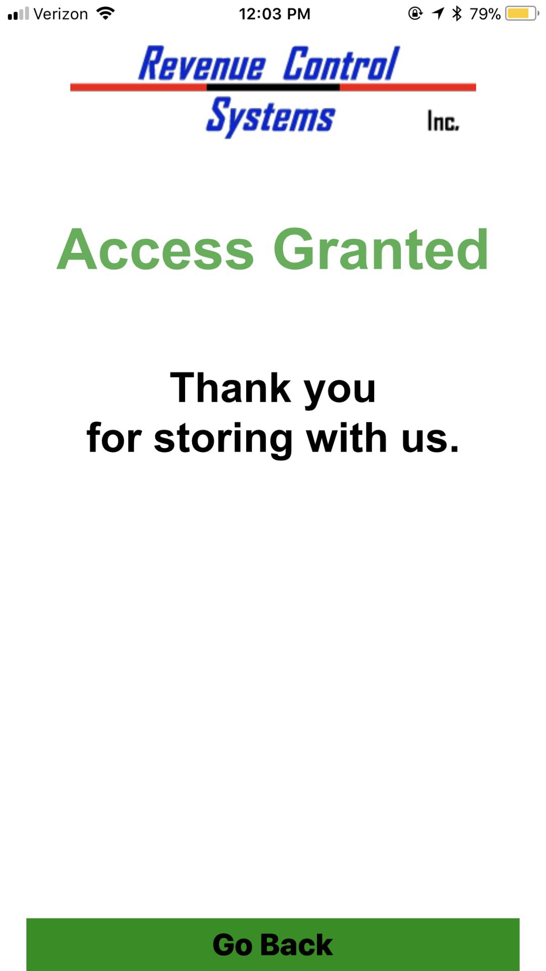 Codice! Apple 'Access Granted' Screen