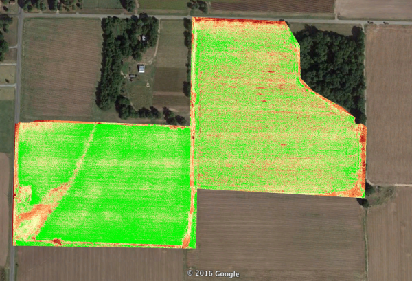 Aerial Ag Mapping | Normalized Difference Vegetation Index (NDVI)