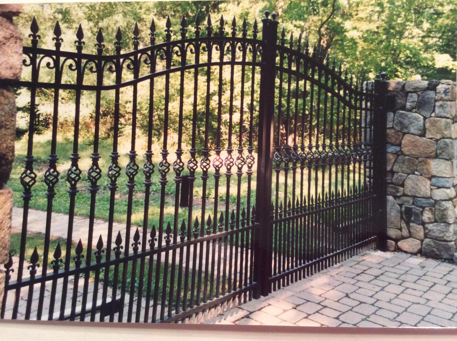 Custom Made Iron Entry Gates
