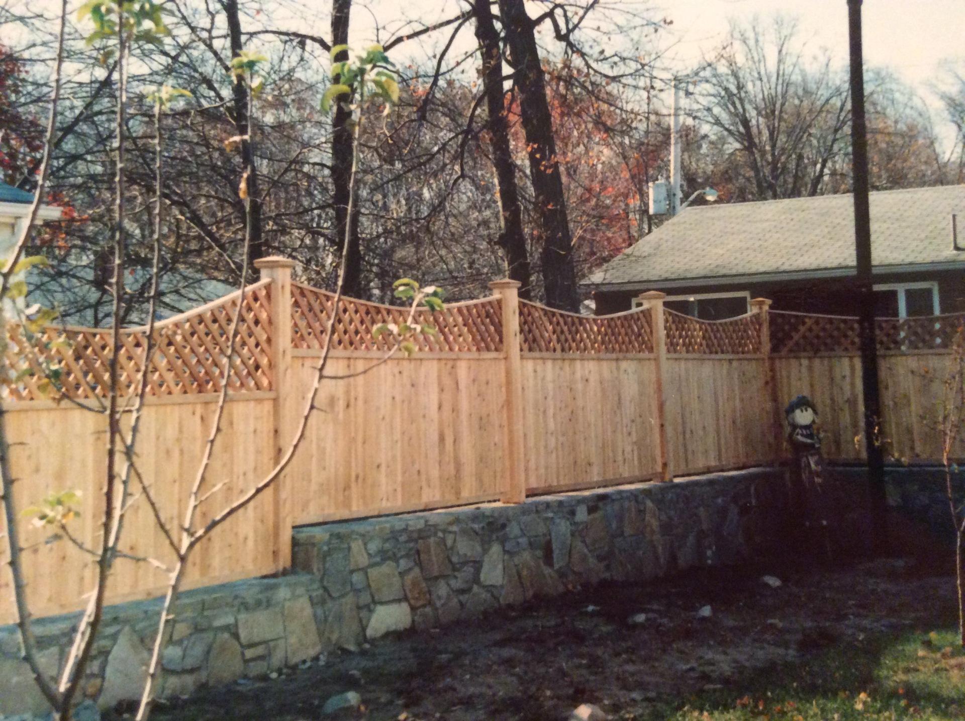Beautiful Wood Fences