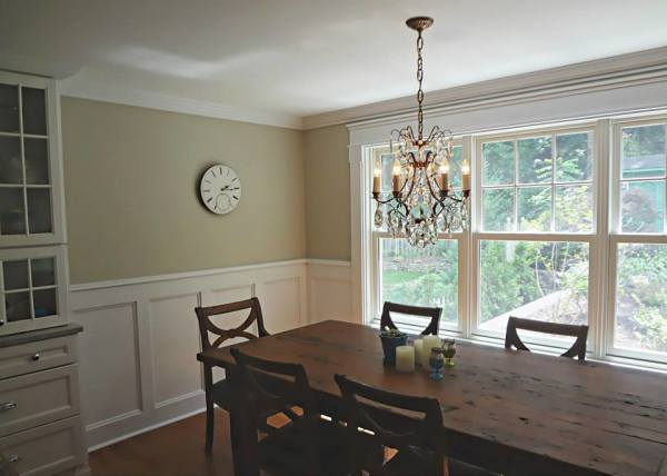 Custom Dining Room Trim