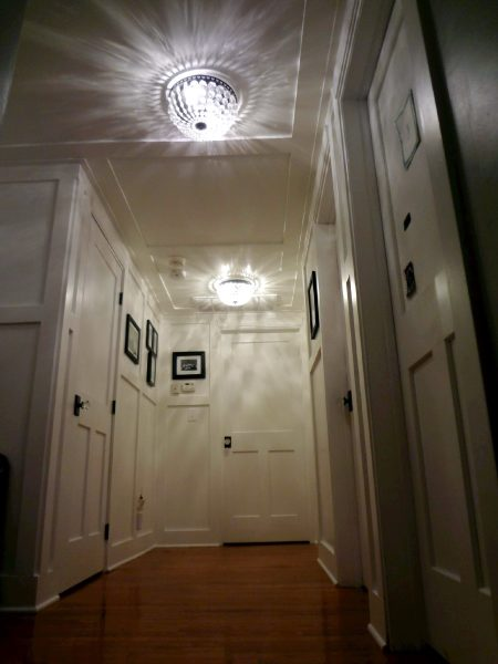 Custom Hallway Paneling