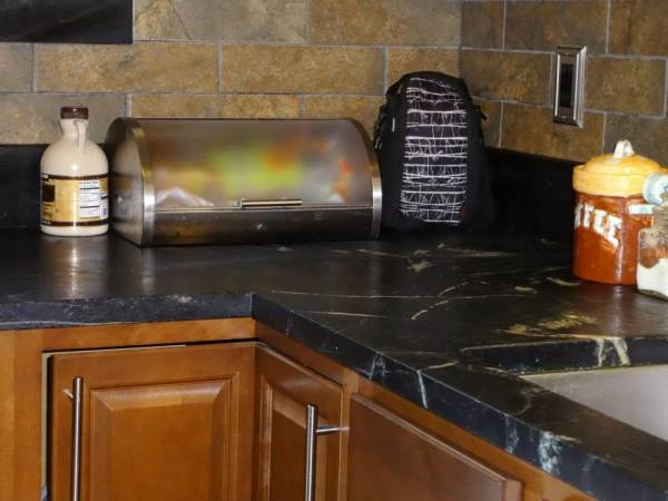 Soapstone Kitchen Counter and Trim