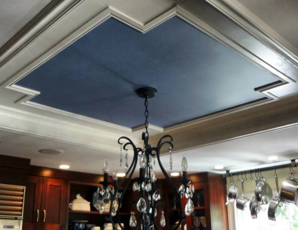 custom kitchen ceiling