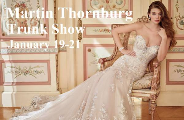 Martin Thornburg Trunk Show