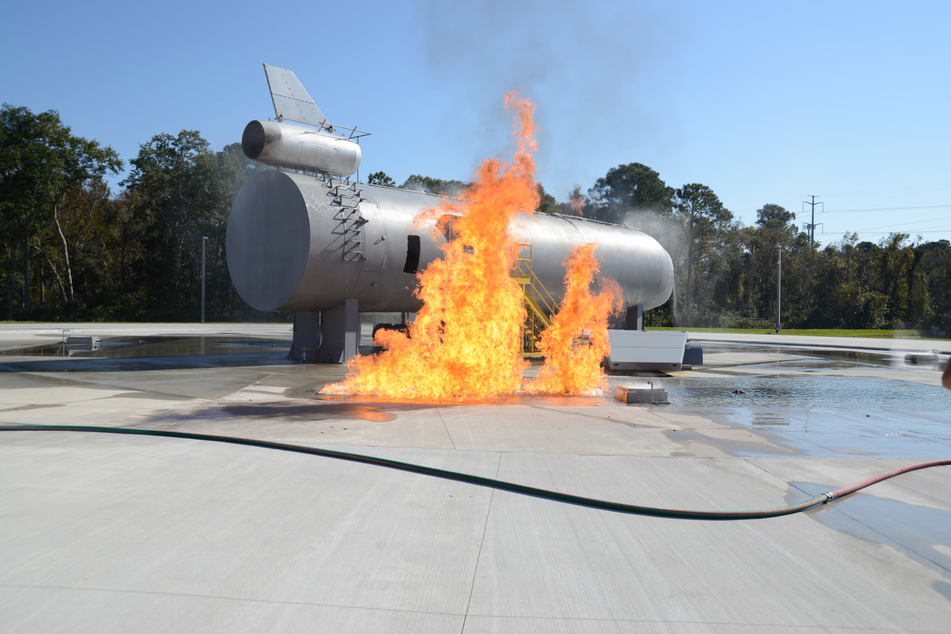 FCSJ MARITIME AND AIRCRAFT FIRE TRAINING OPERATIONS