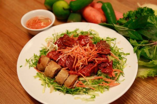 Vermicelli with Saigon Roll
