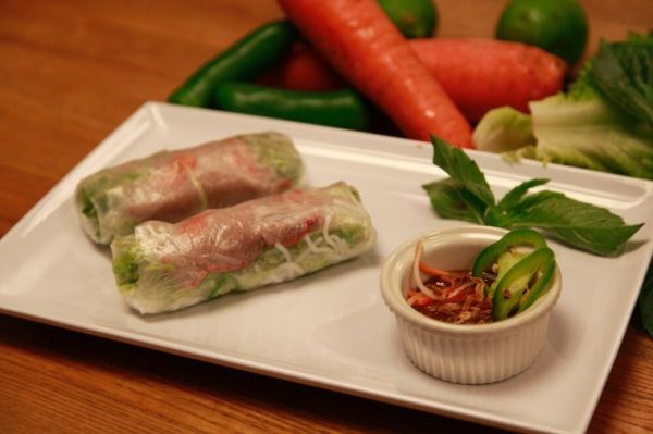 Saigon Fresh Rolls