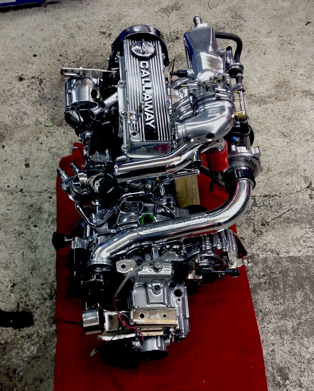 77 Rabbit engine