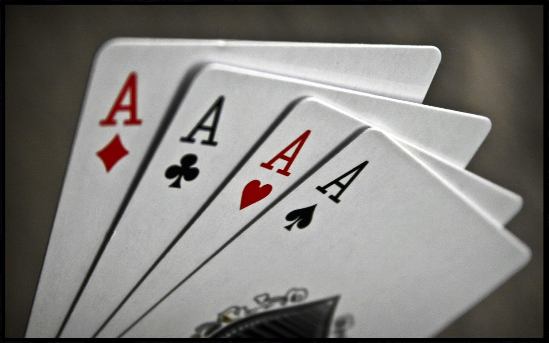 Открытки покер, птицами улетающими