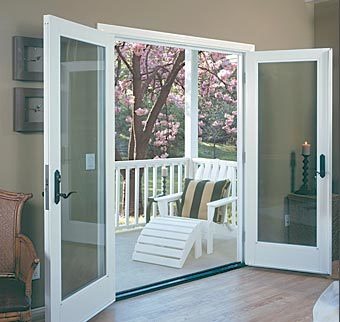 patio door, french door, french swing patio