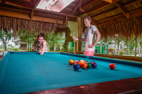 Billiards at the Game Hut