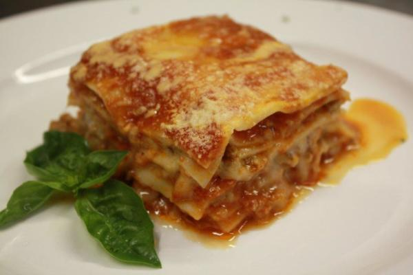 Homestyle Lasagna Price $26 (6-8pcs)