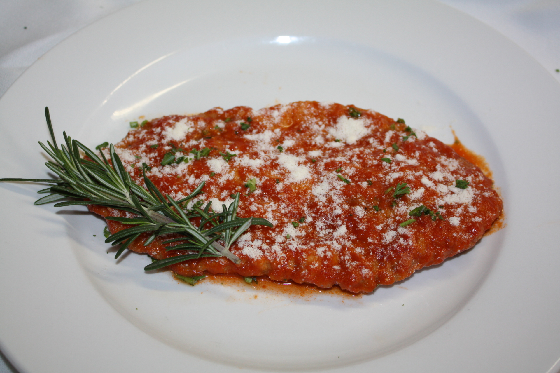 Veal Parmesan Price $20 (4pcs)