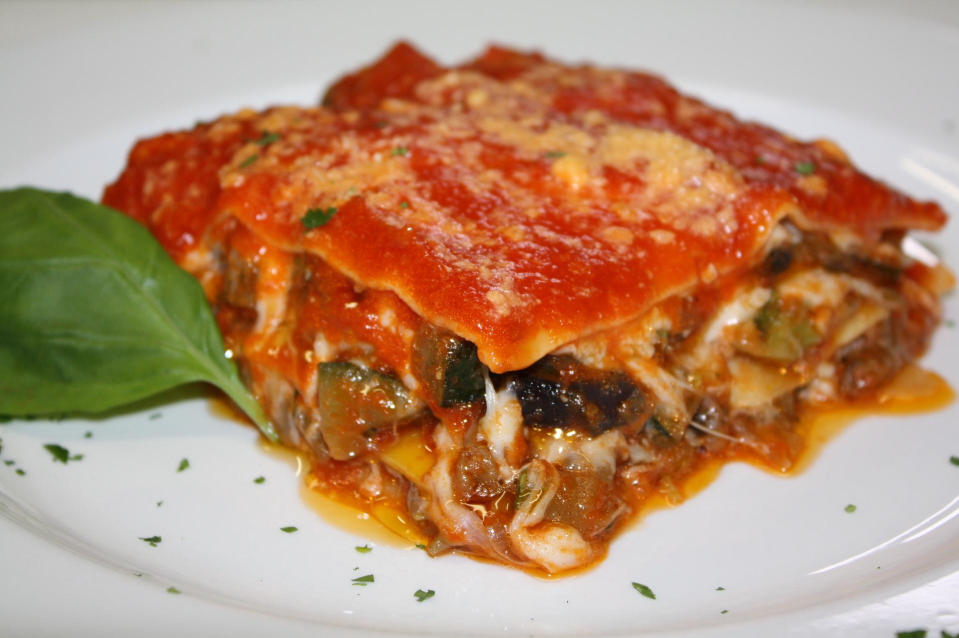 Vegetarian Lasagna Price: $26 (6-8pcs)