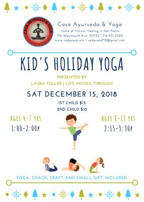 Holiday Kid's Yoga