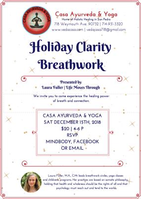 Holiday Clarity Breathwork