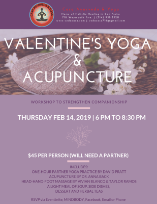 Valentine's Yoga & Acupuncture