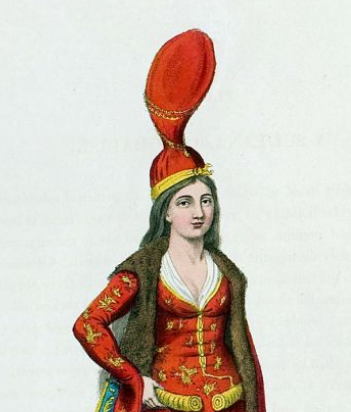 The costume of Turkey, Illustrations by Octavian Dalvimart, printed in 1802